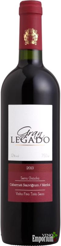 Ficha Técnica: Gran Legado Cabernet Sauvignon - Merlot (2013)