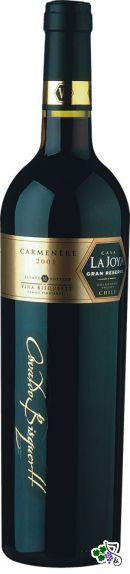 Ficha Técnica: La Joya Carmenère Gran Reserva (2001)