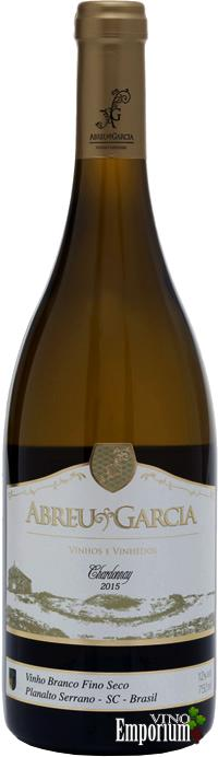 Ficha Técnica: Abreu Garcia Chardonnay (2015)
