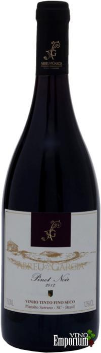 Ficha Técnica: Abreu Garcia Pinot Noir (2012)
