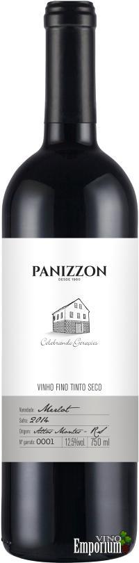 Ficha Técnica: Panizzon Merlot (2014)