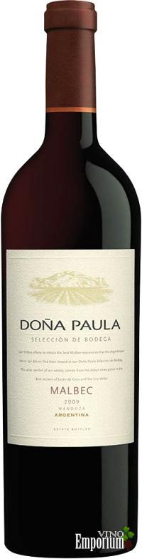 Ficha Técnica: Doña Paula Selección de Bodega Malbec (2009)