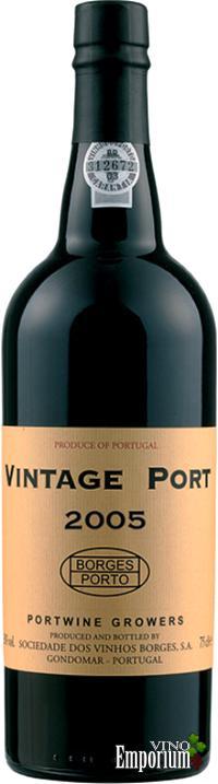 Ficha Técnica: Borges Vintage Port (2005)