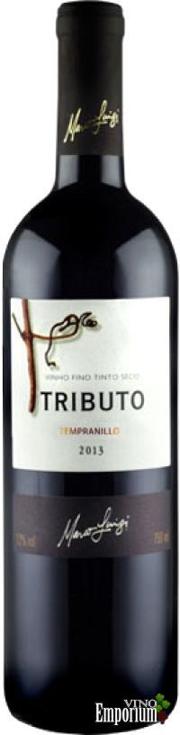 Ficha Técnica: Marco Luigi Tributo Tempranillo (2013)