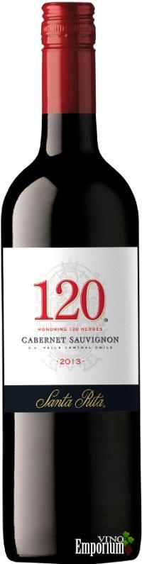 Ficha Técnica: 120 Cabernet Sauvignon (2013)