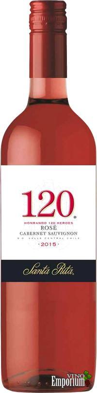 Ficha Técnica: 120 Rosé (2015)