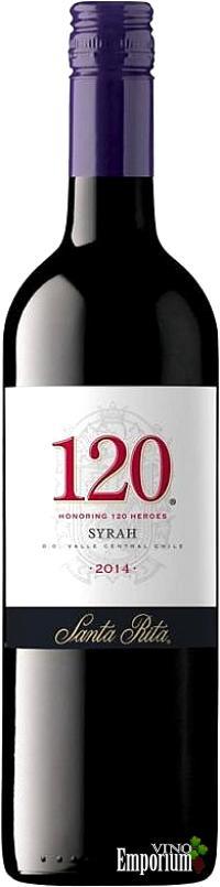 Ficha Técnica: 120 Syrah (2014)