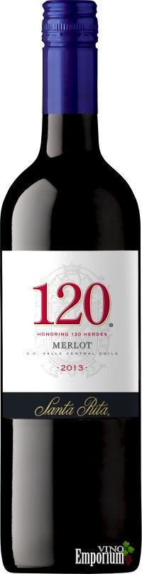 Ficha Técnica: 120 Merlot (2013)