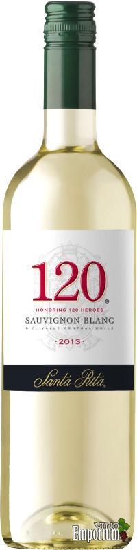 Ficha Técnica: 120 Sauvignon Blanc (2013)
