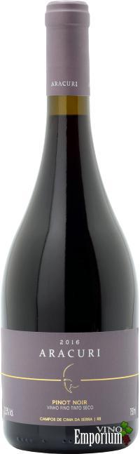 Ficha Técnica: Aracuri Pinot Noir (2016)