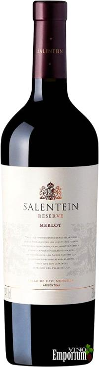 Ficha Técnica: Salentein Reserve Merlot (2013)