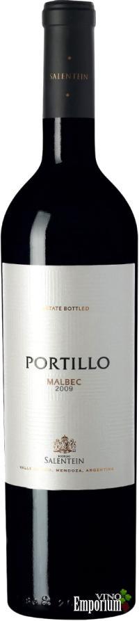Ficha Técnica: Portillo Malbec (2009)