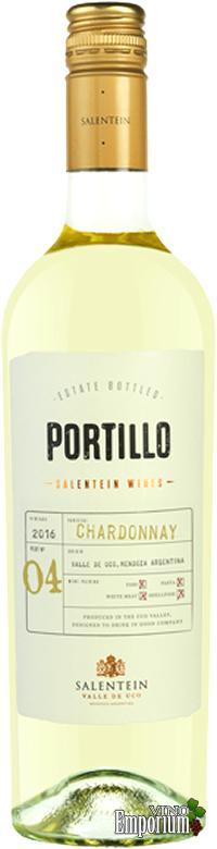 Ficha Técnica: Portillo Chardonnay (2016)