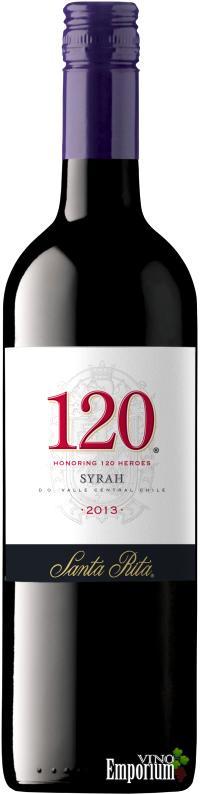 Ficha Técnica: 120 Syrah (2013)