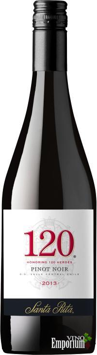 Ficha Técnica: 120 Pinot Noir (2013)