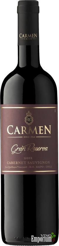 Ficha Técnica: Carmen Gran Reserva Cabernet Sauvignon (2012)