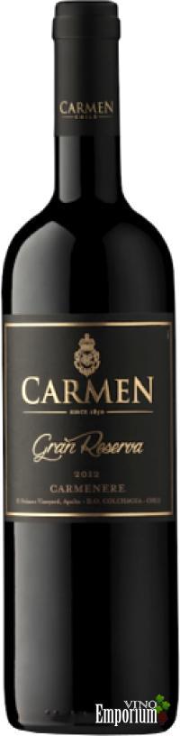 Ficha Técnica: Carmen Gran Reserva Carmenere (2012)