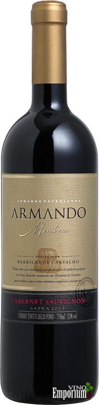 Ficha Técnica: Armando Memória Cabernet Sauvignon (2015)
