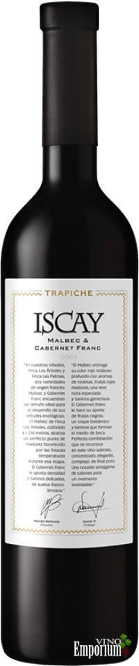 Ficha Técnica: Iscay Malbec & Cabernet Franc (2009)