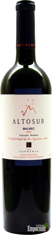 Ficha Técnica: Altosur Malbec (2009)