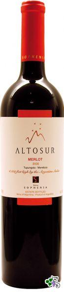 Ficha Técnica: Altosur Merlot (2008)