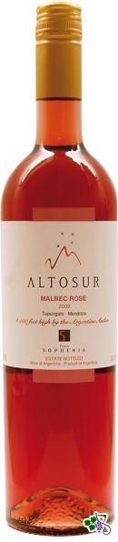 Ficha Técnica: Altosur Malbec Rosé (2009)