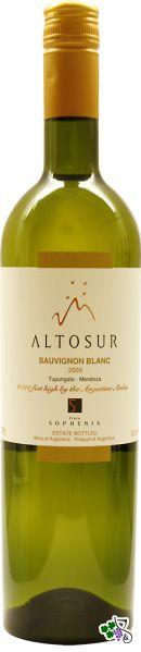Ficha Técnica: Altosur Sauvignon Blanc (2010)