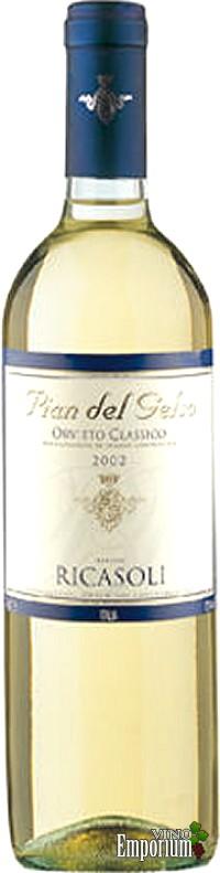 Ficha Técnica: Orvieto Clássico 'Pian del Gelso' DOC (2002)