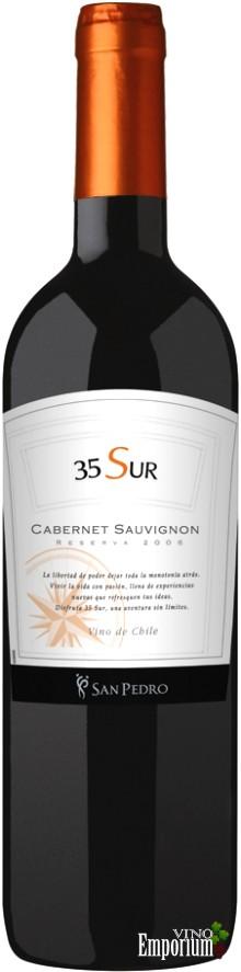 Ficha Técnica: 35 Sur Cabernet Sauvignon (2006)