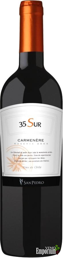 Ficha Técnica: 35 Sur Carmenère (2006)