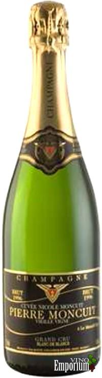 Ficha Técnica: Champagne Pierre Moncuit Cuvée Nicole Blanc de Blancs Vieille Vigne Brut (1996)