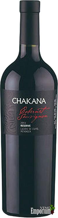 Ficha Técnica: Chakana Cabernet Sauvignon Reserva (2004)