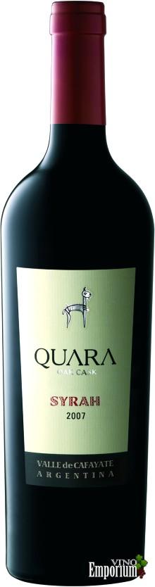 Ficha Técnica: Quara Syrah (2007)