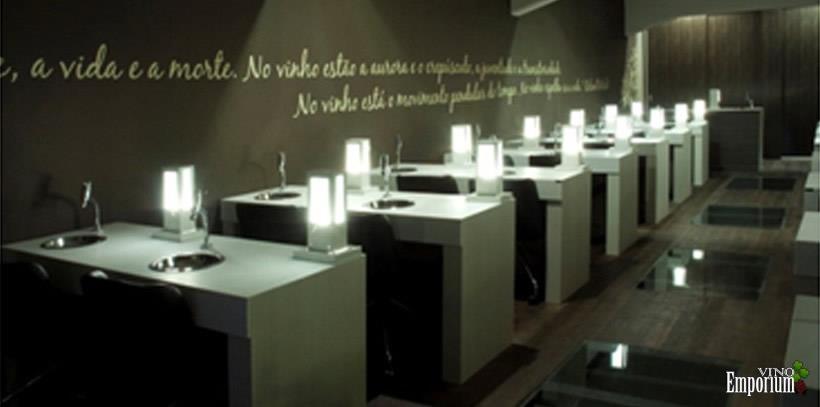 2010 - Sala de degustação na matriz da Vinícola Aurora