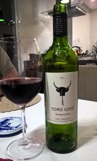 Toro Loco Tempranillo (por Cristiano Janjacomo)