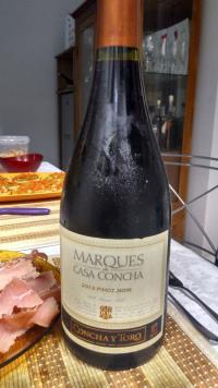 Marques de Casa concha Pinot Noir (por Fernando César Martins)
