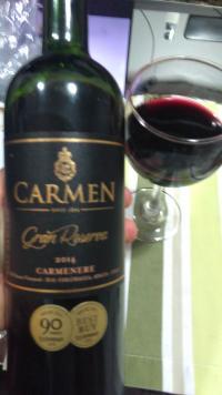 Carmen Gran Reserva Carmenere (por Fernando César Martins)